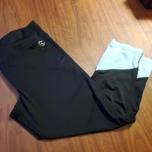 2 for $10 Blue and black work out leggings